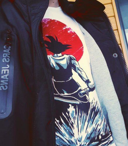 Dragon Ball Z Goku T-shirt photo review