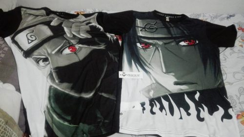 T shirt  Kakashi Sharingan Serie Naruto photo review